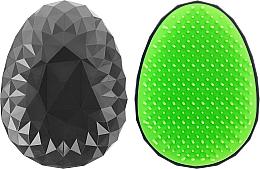 Düfte, Parfümerie und Kosmetik Entwirrbürste schwarz-grün - Twish Spiky Hair Brush Model 2 Midnight Black