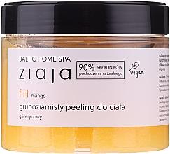 Düfte, Parfümerie und Kosmetik Glättendes und erweichendes Glycerin-Körperpeeling mit Makrogranulat und Mangoduft - Ziaja Baltic Home SPA Body Peeling