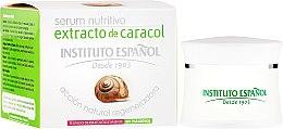 Düfte, Parfümerie und Kosmetik Regenerierendes Gesichtsserum mit Schneckenextrakt - Instituto Espanol Snail Serum Extract