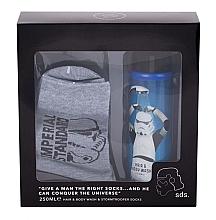 Düfte, Parfümerie und Kosmetik Körperpflegeset - Corsair Star Stormtrooper (Duschgel 250ml + Socken)