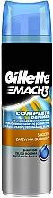 Düfte, Parfümerie und Kosmetik Rasiergel - Gillette Mach 3 Complete Defense Smooth