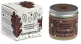 Düfte, Parfümerie und Kosmetik Natürliche Deocreme mit Cognac-Aroma - RareCraft Cream Deodorant