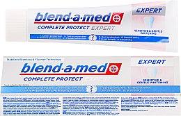 Düfte, Parfümerie und Kosmetik Zahnpasta Sensitive & Gentle Whitening - Blend-a-med Complete Protect Expert Sensitive & Gentle Whitening Toothpaste