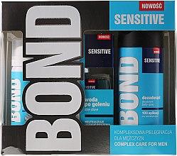 Düfte, Parfümerie und Kosmetik Set - Bond Expert Sensitve (deo/150ml + lotion/100ml + foam/50ml)