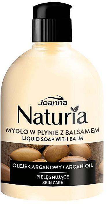 Flüssigseife mit Balsam Arganöl - Joanna Naturia Argan Oil Liquid Soap