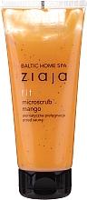 Düfte, Parfümerie und Kosmetik Körperpeeling vor Sauna mit Feige und Koffein - Ziaja Baltic Home Spa FIT Microscrub Mango Care Before Sauna