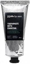 Düfte, Parfümerie und Kosmetik Zahnpasta mit Aktivkohle - Zew For Men Toothpaste With Charcoal