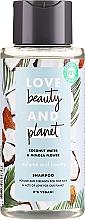 Düfte, Parfümerie und Kosmetik Volumen-Shampoo mit Kokosnusswasser und Mimosenblume für feines Haar - Love Beauty&Planet Coconat Water & Mimosa Flower
