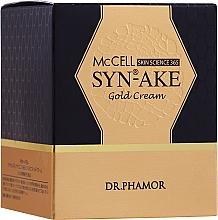 Düfte, Parfümerie und Kosmetik Intensiv pflegende Gesichtscreme - Dr. Pharmor McCell Skin Science 365 SYN-AKE Gold Cream