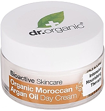 Düfte, Parfümerie und Kosmetik Pflegende Tagescreme mit marokkanischem Arganöl - Dr. Organic Bioactive Skincare Organic Moroccan Argan Oil Day Cream