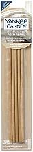 Düfte, Parfümerie und Kosmetik Vorbeduftete Holzstäbchen Warm Cashmere für Deko-Halter - Yankee Candle Warm Cashmere Pre-Fragranced Reed Refill