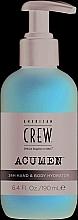 Düfte, Parfümerie und Kosmetik Feuchtigkeitsspendende Hand- und Körperlotion - American Crew Acumen 24H Hand & Body Hydrator