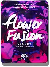 Düfte, Parfümerie und Kosmetik Nährende Tuchmaske für das Gesicht mit Veilchen - Origins Flower Fusion Violet Nourishing Sheet Mask