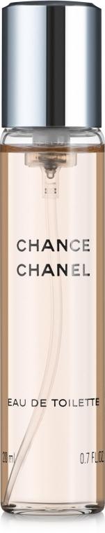 Chanel Chance - Eau de Toilette (2x20ml Refill + 1x20ml Parfümzerstäuber) — Bild N2