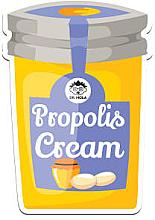 Düfte, Parfümerie und Kosmetik Nährende und regenerierende Tuchmaske mit Propolis und pflanzlichen Ölen - Dr. Mola Propolis Cream Sheet Mask