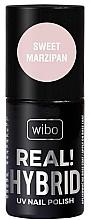 Düfte, Parfümerie und Kosmetik Hybrid-Nagellack - Wibo Hybrid Real Hybrid UV Nail Polish
