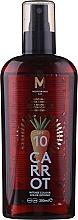 Düfte, Parfümerie und Kosmetik Bräunigungsöl mit Karotte SPF 10 - Mediterraneo Sun Carrot Suntan Oil Dark Tanning SPF 10