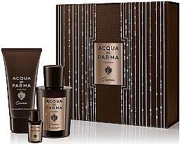 Düfte, Parfümerie und Kosmetik Acqua di Parma Colonia Quercia - Duftset (Eau de Cologne/100ml + Eau de Cologne/5ml + Duschgel/75ml)
