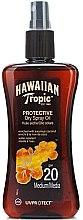 Düfte, Parfümerie und Kosmetik Trockenes Bräunungsöl mit Kokosöl - Hawaiian Tropic Protective Dry Oil SPF 20