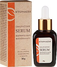 Düfte, Parfümerie und Kosmetik Zweiphasiges klärendes Gesichtsserum - Bosphaera Serum