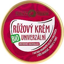 Düfte, Parfümerie und Kosmetik Feuchtigkeitsspendende und regenerierende Gesichtscreme mit Rosen und Arganöl - Purity Vision Rose Cream