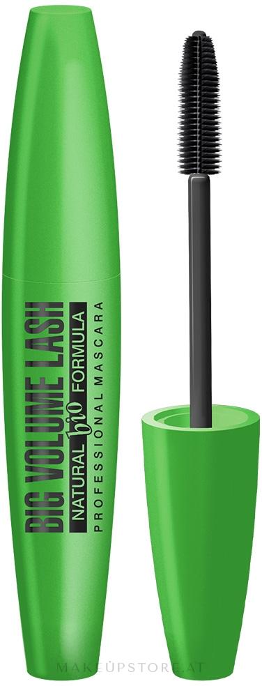 Eveline Cosmetics Big Volume Lash Natural Bio Formula Mascara - Bio-Mascara — Bild Schwarz