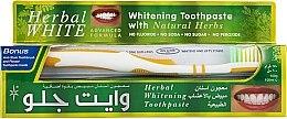 Düfte, Parfümerie und Kosmetik Zahnpflegeset - White Glo Herbal White (Zahnpasta 100 ml & Zahnbürste 1 St.)