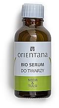 Düfte, Parfümerie und Kosmetik Bio Gesichtsserum mit Neemöl und indischem Basilikum - Orientana Bio Serum For Face