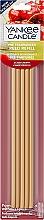 Düfte, Parfümerie und Kosmetik Vorbeduftete Holzstäbchen Black Cherry für Deko-Halter - Yankee Candle Black Cherry Pre-Fragranced Reed Diffuser Refills