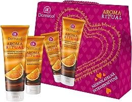 Düfte, Parfümerie und Kosmetik Körperpflegeset - Dermacol Aroma Ritual Belgian Chocolate (Duschgel 250ml + Handcreme 100ml)