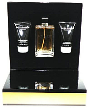 Düfte, Parfümerie und Kosmetik Davidoff Silver Shadow - Duftset (Eau de Toilette 100ml + After Shave Balsam 50ml + Duschgel 50ml)
