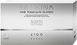Düfte, Parfümerie und Kosmetik Anti-Haarausfall Ampullen für Frauen 2100 - Labo Crescina Complete Treatment Hair Follicular Island 2100