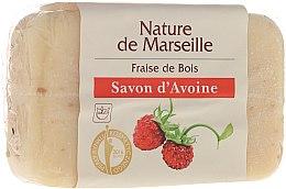 Düfte, Parfümerie und Kosmetik Haferflocken-Seife mit Erdbeerduft - Nature de Marseille Soap