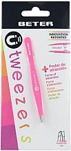 Düfte, Parfümerie und Kosmetik Augenbrauenpinzette schräg rosa - Beter