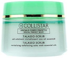 Düfte, Parfümerie und Kosmetik Revitalisierendes Körperpeeling aus Meersalz und reinen ätherischen Ölen - Collistar Talasso Scrub