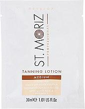 Düfte, Parfümerie und Kosmetik Selbstbräunungslotion - St.Moriz Self Tanning Lotion Medium (Probe)