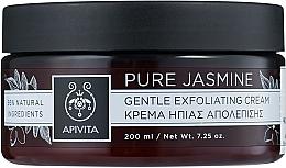 Düfte, Parfümerie und Kosmetik Sanfte Peelingcreme für das Gesicht mit Jasmin - Apivita Gentle Exfoliating Cream