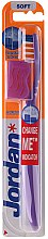 Düfte, Parfümerie und Kosmetik Zahnbürste weich  Advanced lila - Jordan Advanced Soft Toothbrush