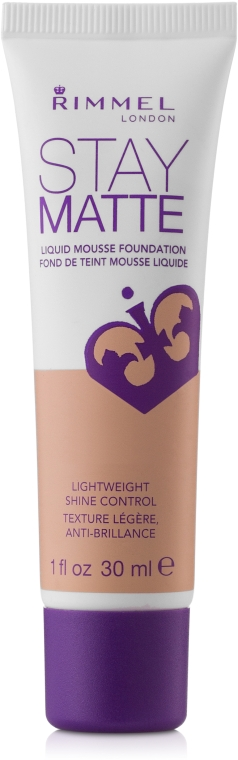 Mattierende Foundation - Rimmel Stay Matte Liquid Mousse Foundation
