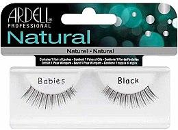 Düfte, Parfümerie und Kosmetik Künstliche Wimpern - Ardell Natural Babies Black