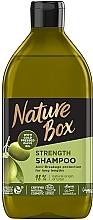 Düfte, Parfümerie und Kosmetik Shampoo mit Olivenöl für lange Haare - Nature Box Shampoo Olive Oil