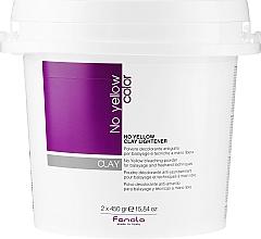 Düfte, Parfümerie und Kosmetik Blondierpulver gegen Gelbstich - Fanola No Yellow Clay Lightner