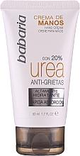 Düfte, Parfümerie und Kosmetik Feuchtigkeitsspendende Handcreme für rissige Haut mit 20% Urea - Babaria Cream Hands Urea Anti-grietas