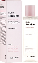 Düfte, Parfümerie und Kosmetik Feuchtigkeitsspendendes Gesichtstonikum mit Hyaluronsäure - It's Skin Hydra Routine Wakening Toner