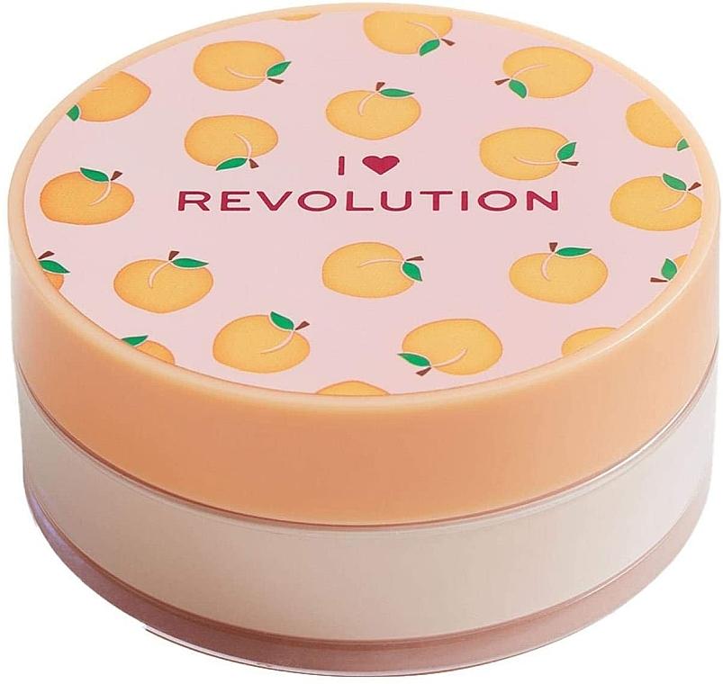 Loser Gesichtspuder Pfirsich - I Heart Revolution Loose Baking Powder Peach