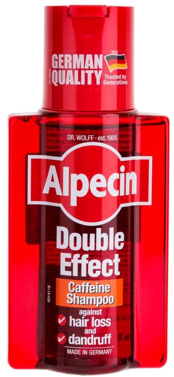 Coffein-Shampoo gegen Haarausfall und Schuppen - Alpecin Double Effect Caffeine Shampoo — Bild N1