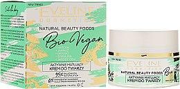 Düfte, Parfümerie und Kosmetik Mattierende Gesichtscreme - Eveline Cosmetics Natural Beauty Foods Bio Vegan