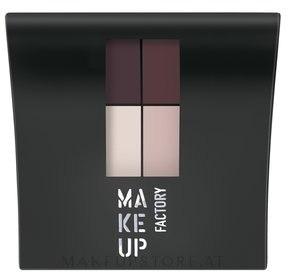 Matte Lidschatten - Make Up Factory Mat Eye Colors — Bild 560 - Plum Party