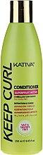 Düfte, Parfümerie und Kosmetik Haarspülung für lockiges Haar - Kativa Keep Curl Conditioner