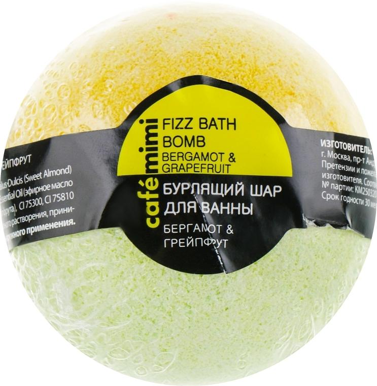 Badebombe Bergamotte & Grapefruit - Cafe Mimi Bubble Ball Bath